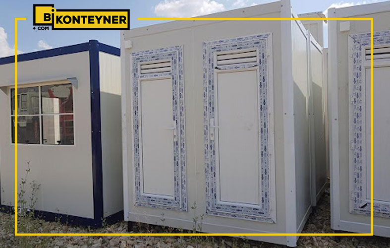 İkinci El Konteyner Tuvalet